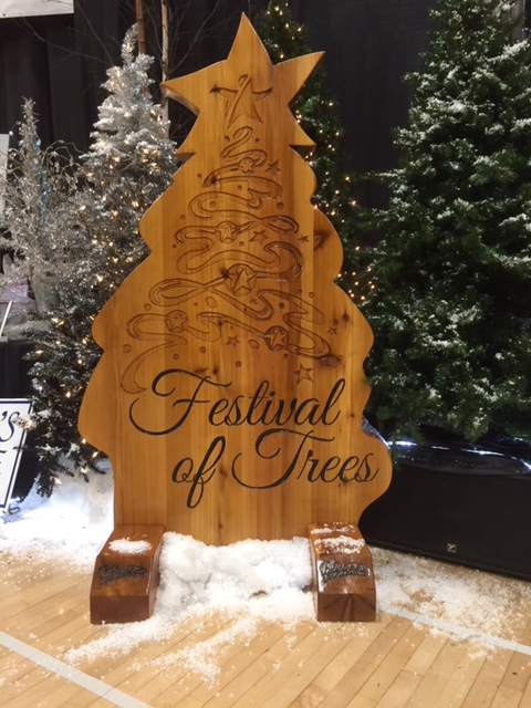 Legacy Gift presented to the City of Prince George as 25th Annual Festival of Trees opens