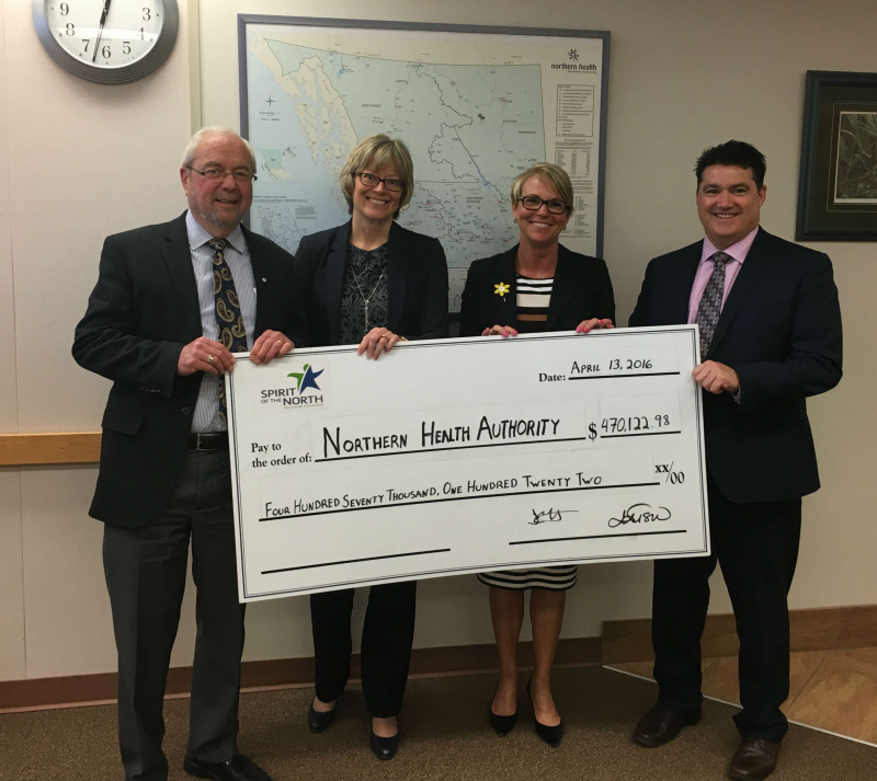 2016 Spring Grant to Northern Health