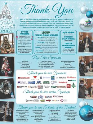 Thank you for the success and participation in the 27th Annual Festival of Trees!